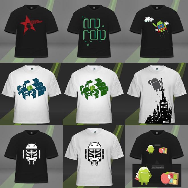 Výpredaj Android tričiek!