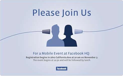 facebook pozvánka