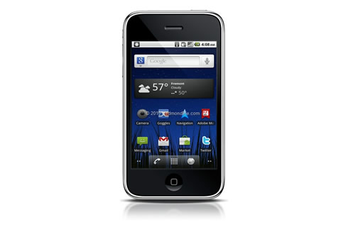 iPhone s Androidom 2.2