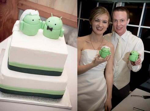 android svadba torta