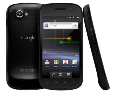 Goggle Nexus S android 2.3 gingerbread