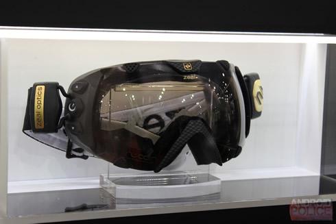 android lyžiarske okuliare