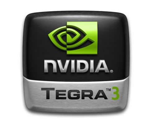 nvidia tegra 3 štvorjadrový procesor android