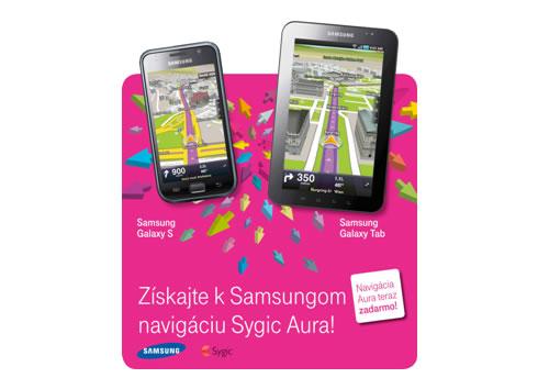 sygic t-mobile navigácia samsung galaxy s tab
