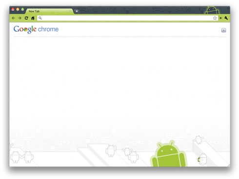 google chrome android tema