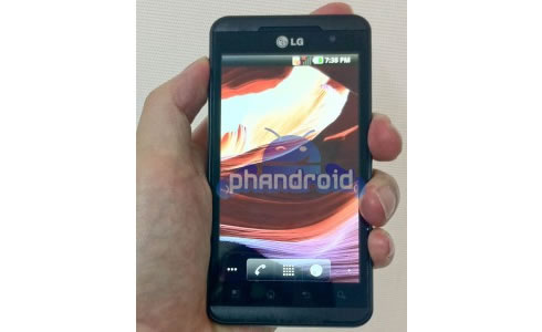 LG Optimus 3D android