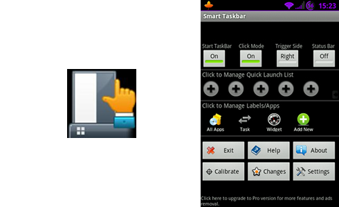 smart taskbar android