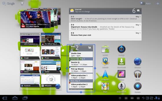 android 3.1 nová verzia