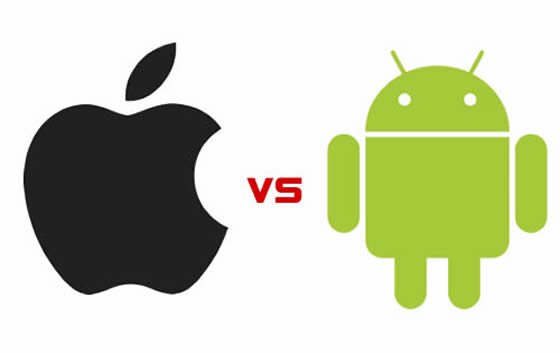 android verzus iOS iPhone