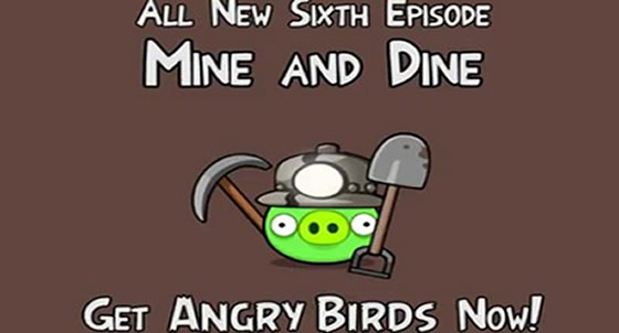angry birds mine and dine android