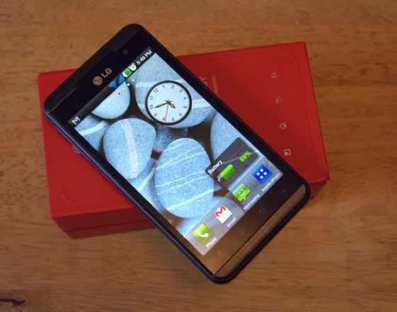 lg optimus 3d smartfon android