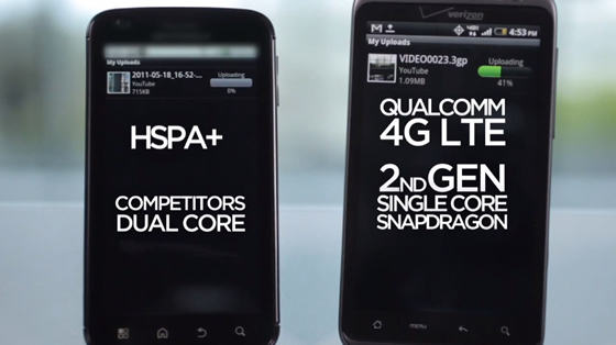 qualcomm snapdragon tegra 2 procesor android
