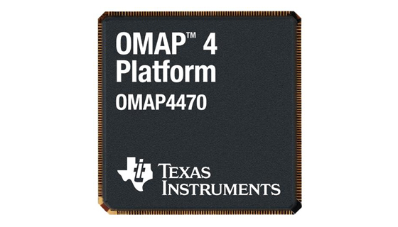 texas instruments 1,8GHz omap4470 dvojjadrovy procesor android