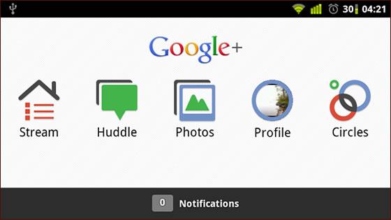 google plus aplikacia android