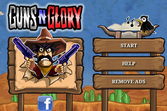 guns and glory android hra