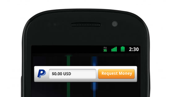paypal nfc android