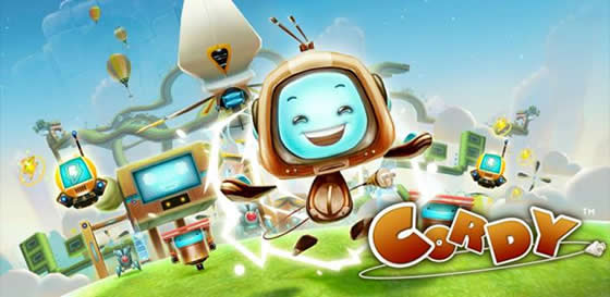 cordy robot android hra