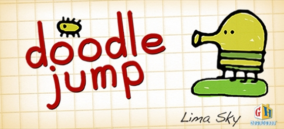 doodle jump android hra