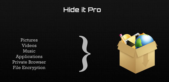 hide it pro android aplikacia