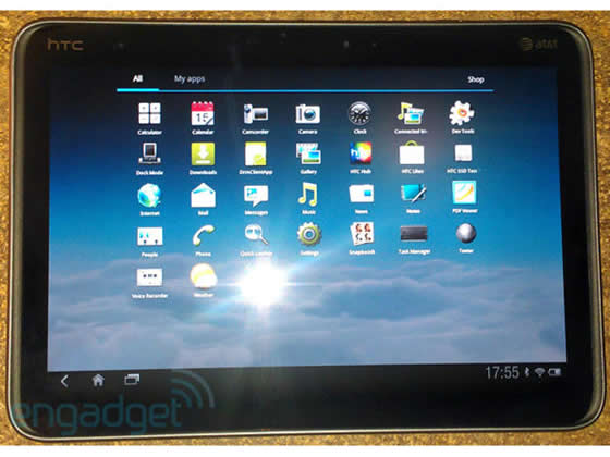htc puccini tablet android