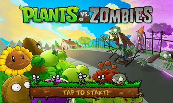 plants vs zombies android hra