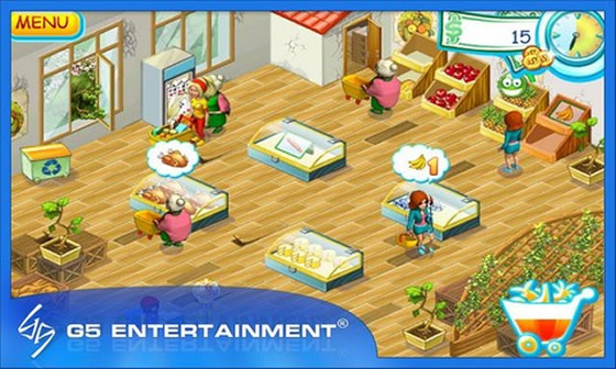 supermarket mania 2 android hra